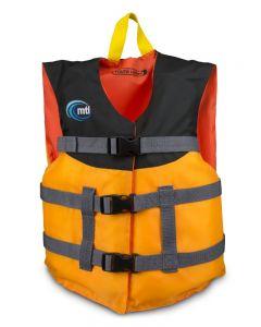 Youth Livery Life jacket Mango Black Front